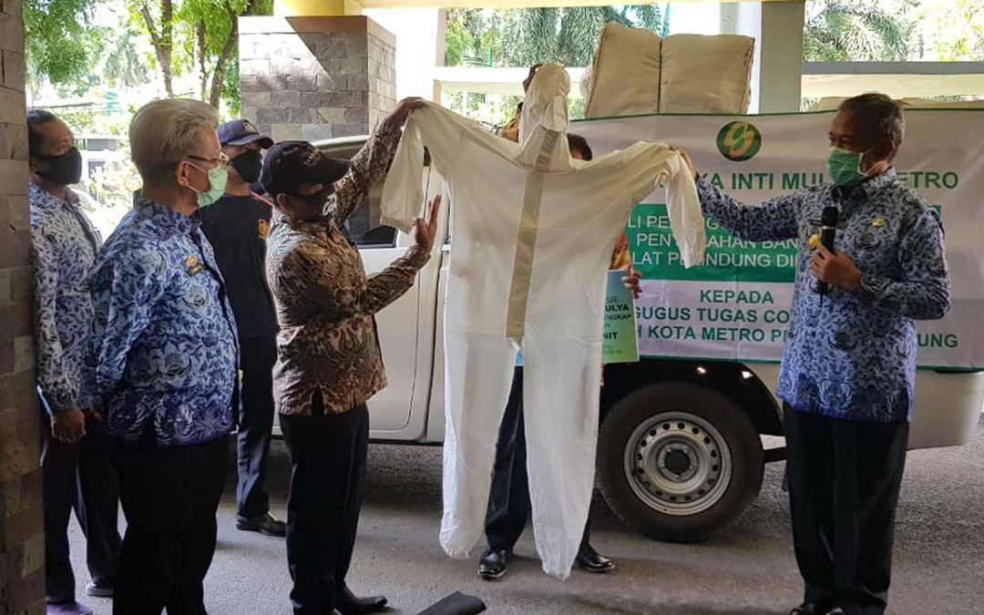 SJAI Hand Over PPE Donation in Metro—Lampung